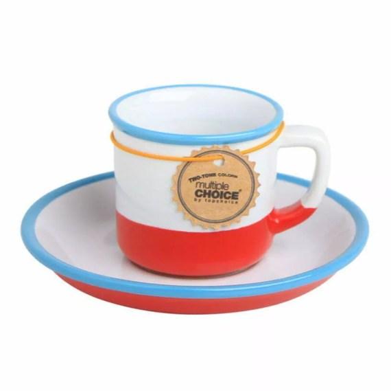 filizanka espresso emaliowana