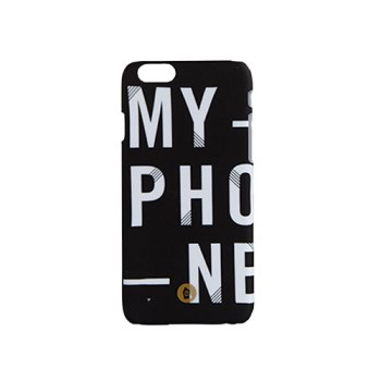 etui na telefon iPhone - napis myphone
