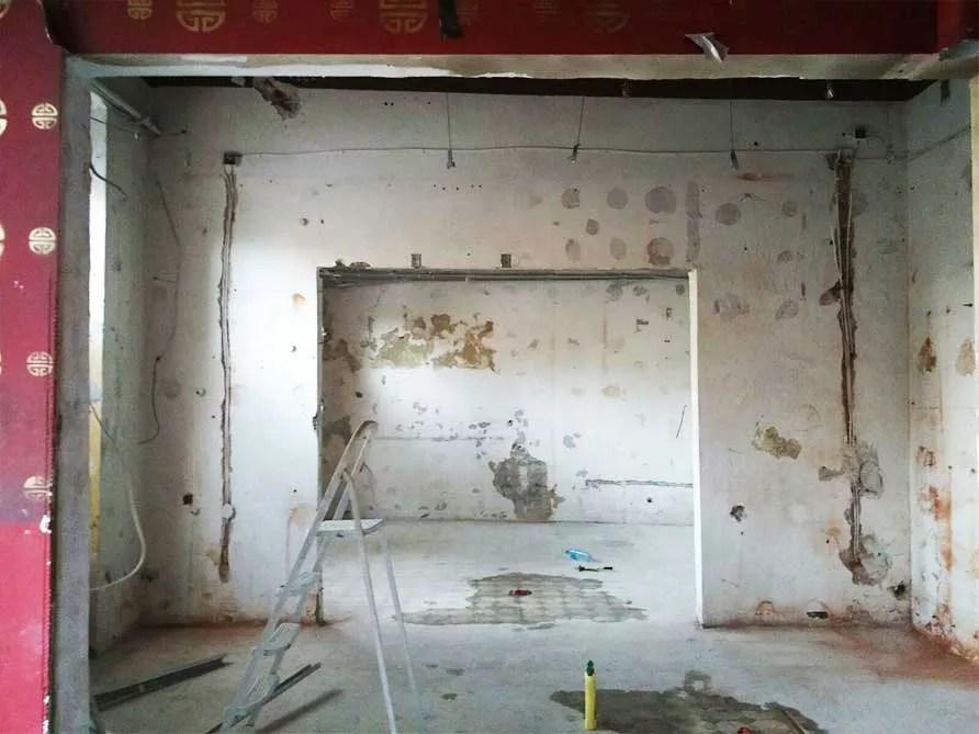prace remontowe w Look Inside