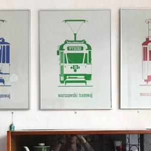 plakaty tramwaje w Look Inside