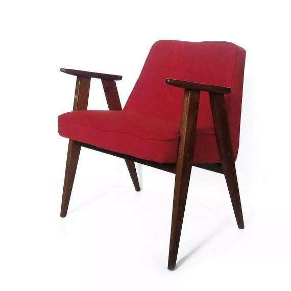 Fotel Chierowski 366 czerwony
