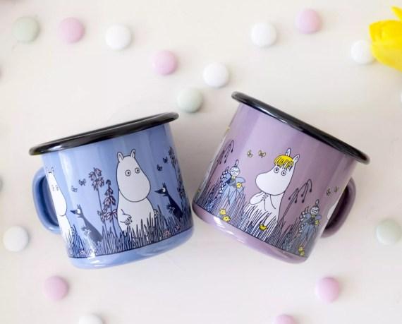 kubeczki muminkiem i migotką Moomin Friends