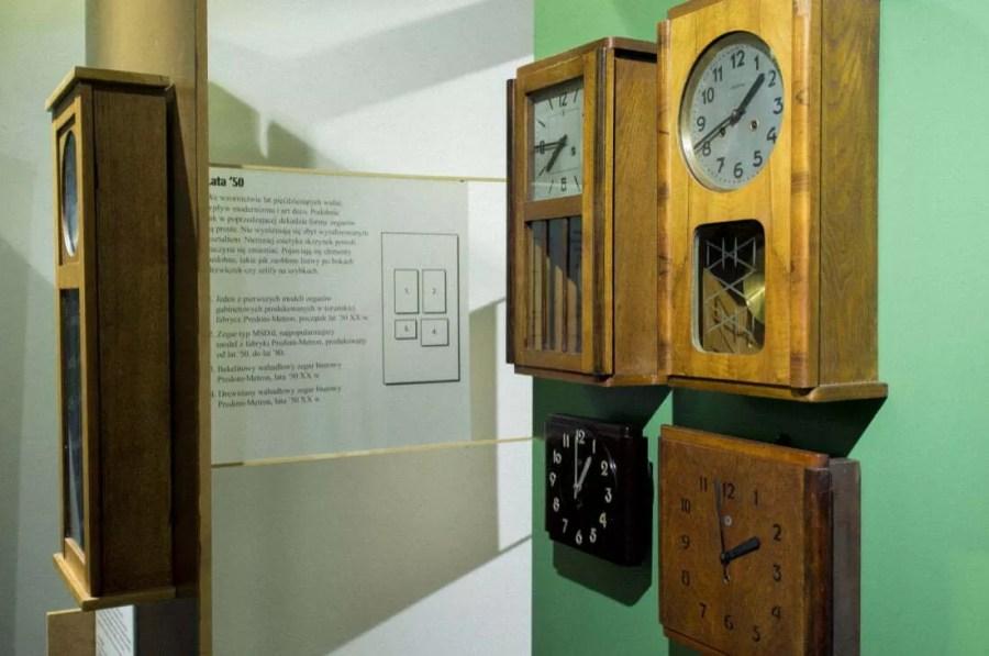"""Wystawa """"Pięć dekad zegarów"""" - Predom Metron"""