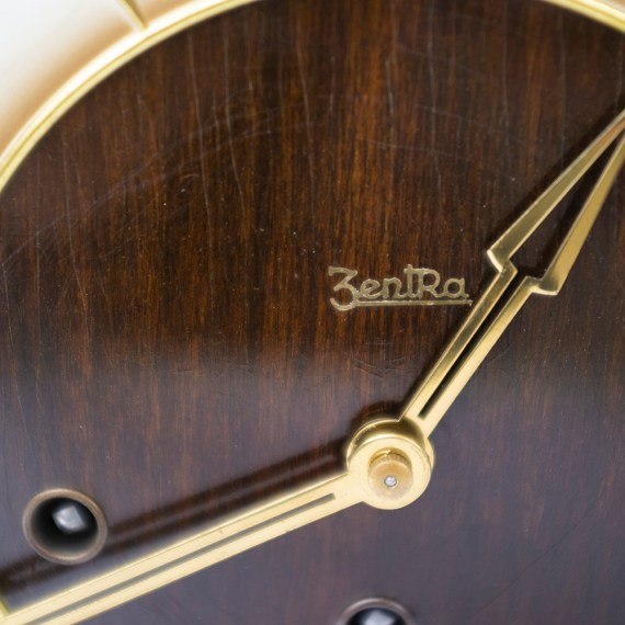 Zegar kwadransowy Zentra, lata 50te