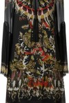 Vestido De Seda Estampado - Roberto Cavalli