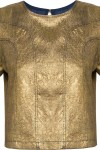 Camiseta Feminina Dolores Gold - Dourado - Mixed