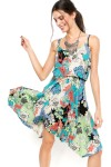 Vestido Mercatto Maxi Flores Multicolorido - Mercatto