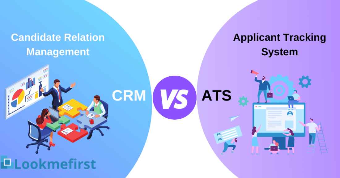 how is recruitment crm different from ats