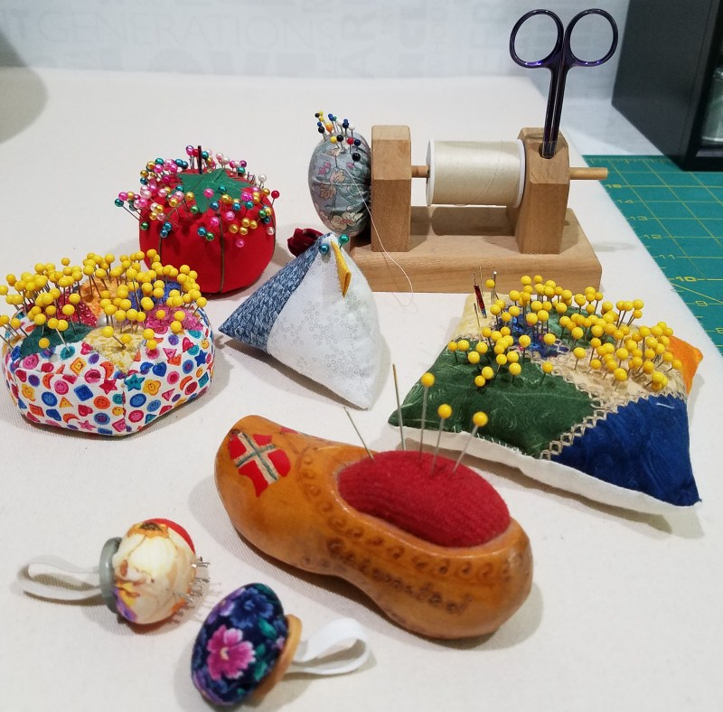 Tips And Tools Tuesday - Pick A Peck Of Pin Cushions