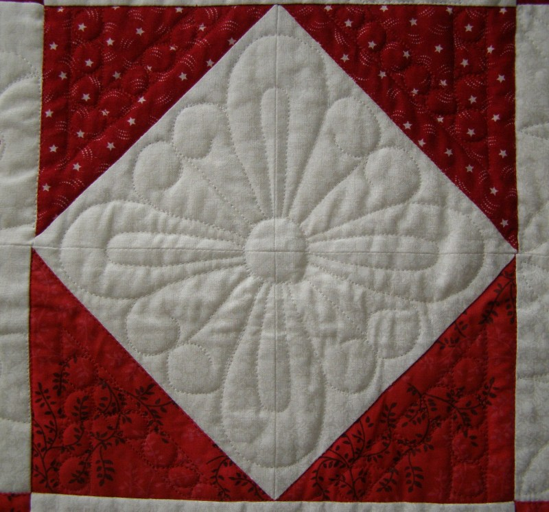 Tips and Tools Tuesday - Machine Quilting, Part Six, Hot on the Trail