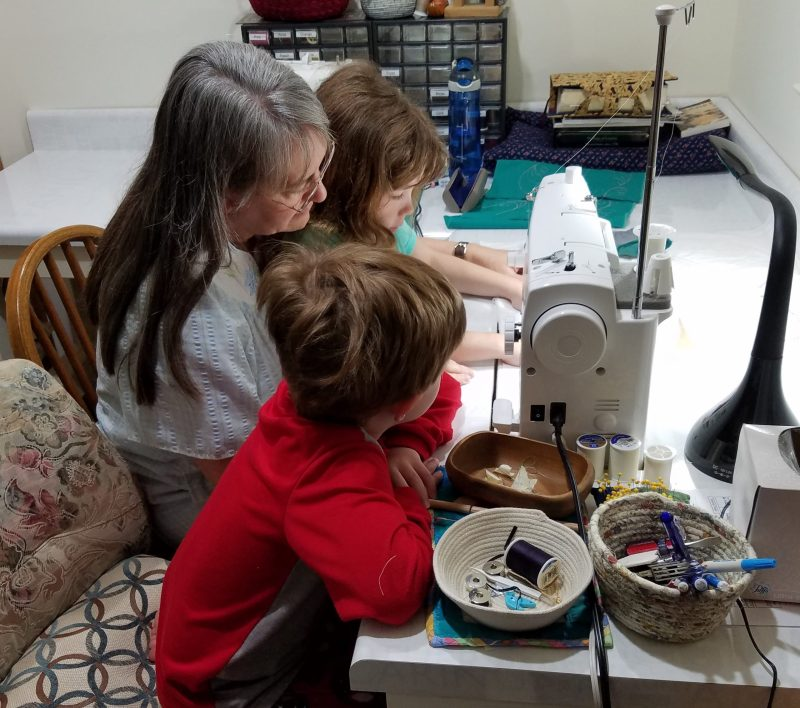 Tips and Tools Tuesday - Sewing and Quilting With Children