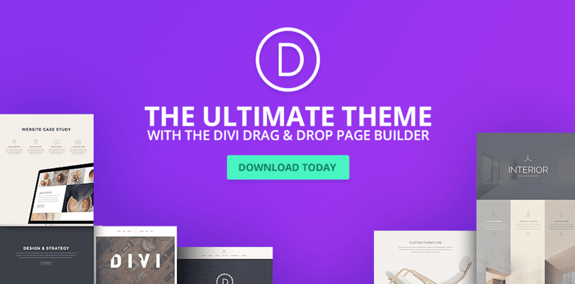 divi — the ultimate wordpress theme with visual page builder