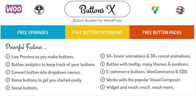 Buttons X — Powerful Button Builder for WordPress