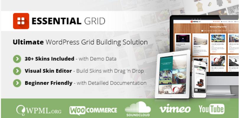 Essential Grid WordPress Plugin