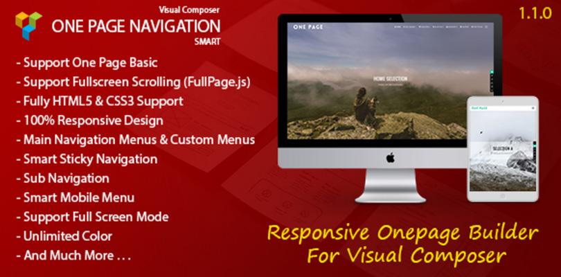 Smart One Page Navigation – Addon For Visual Composer
