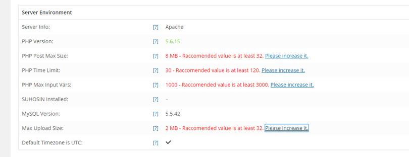 Uncode Server Requirements
