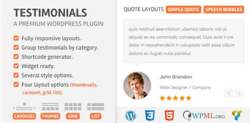 Testimonials WordPress Plugin