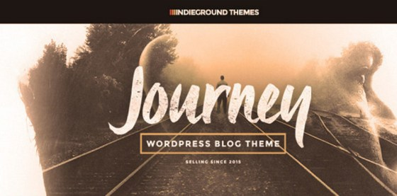 Journey — Personal WordPress Blog Theme