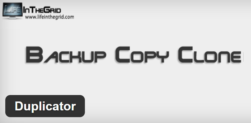 Duplicator Backup Copy and Clone WordPress