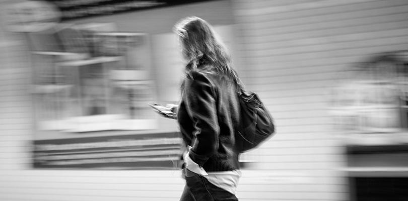 Mobile User Walking