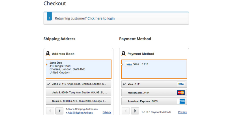 Pay With Amazon WooCommerce