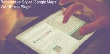 Responsive Styled Google Maps WordPress Plugin