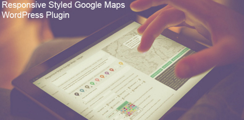 Responsive Styled Google Maps WordPress Plugin
