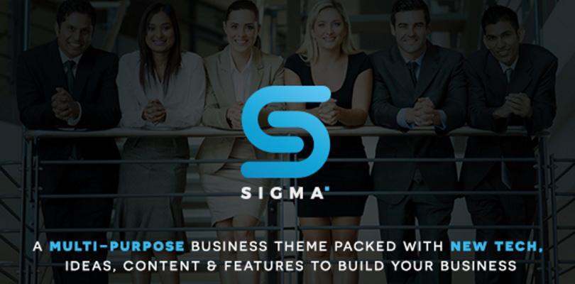 Sigma WordPress Business and Multi-Purpose Theme