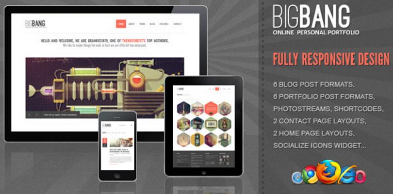 Big Bang WordPress Theme