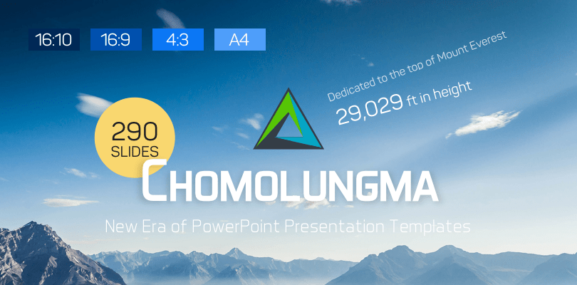 Chomolungma PowerPoint Presentation Template Kit