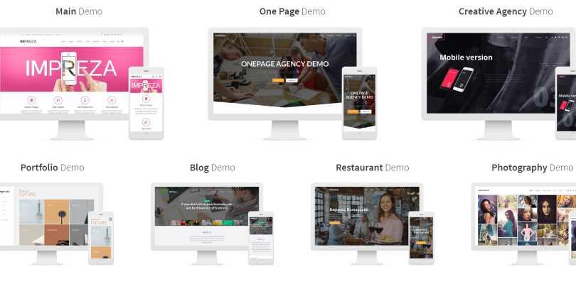 Impreza - Retina Responsive WordPress Theme