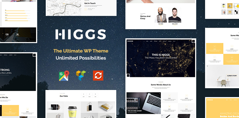 Higgs — the Ultimate WordPress Theme