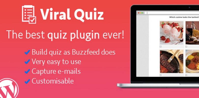 Wordpress Viral Quiz BuzzFeed Quiz Builder