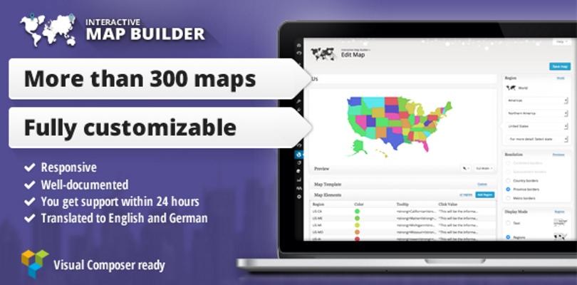 Interactive Map Builder