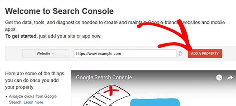 Google Webmaster Tools Connect