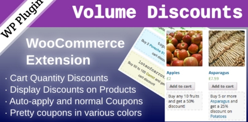 WooCommerce Volume Discount Coupons