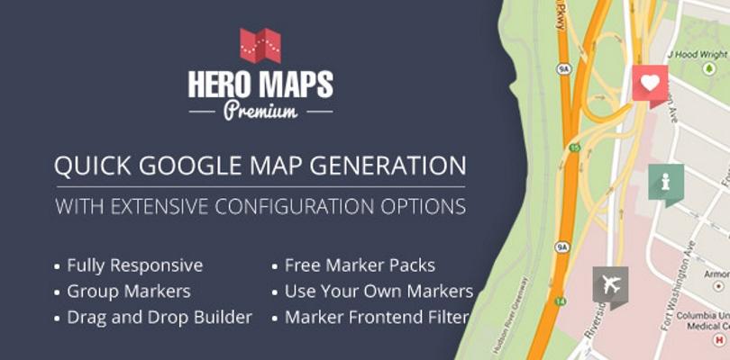 Hero Maps Premium – Responsive Google Maps Plugin