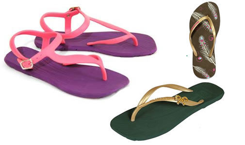 Moda Calçados Amazonas Sandals Moda Verão 2012 Sandálias Chinelos