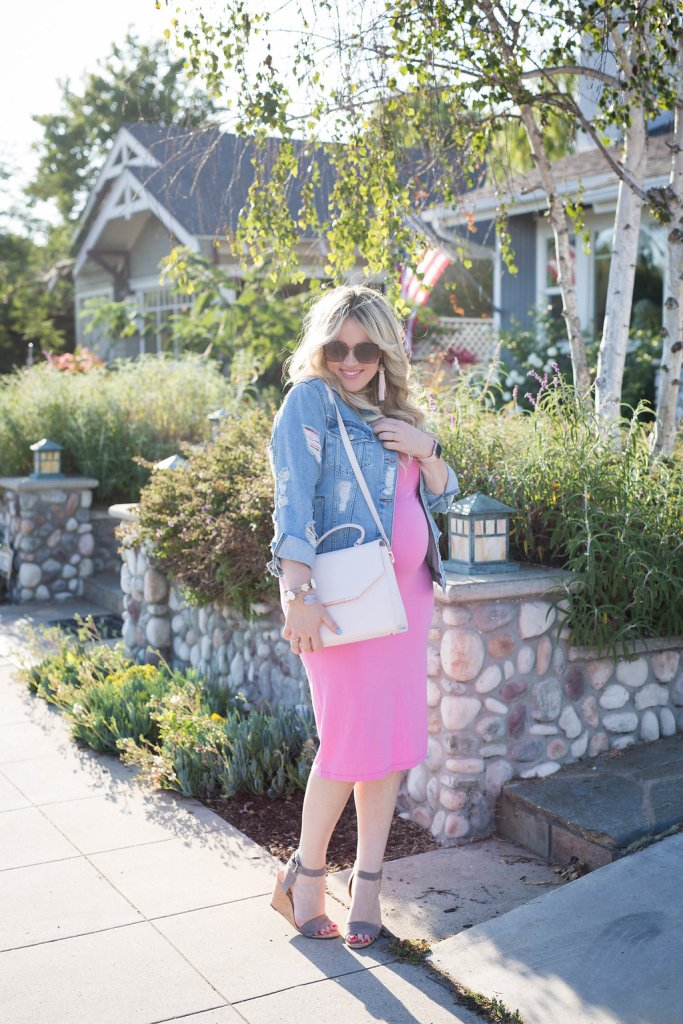 Pretty in Pink and Preggo, pink dress, preggo dress, topshop, asos, asosus, asos maternity, sunglasses, ted baker, ellies sparkles, preggo blogger, maternity fashion, pregnancy fashion, shopbop,