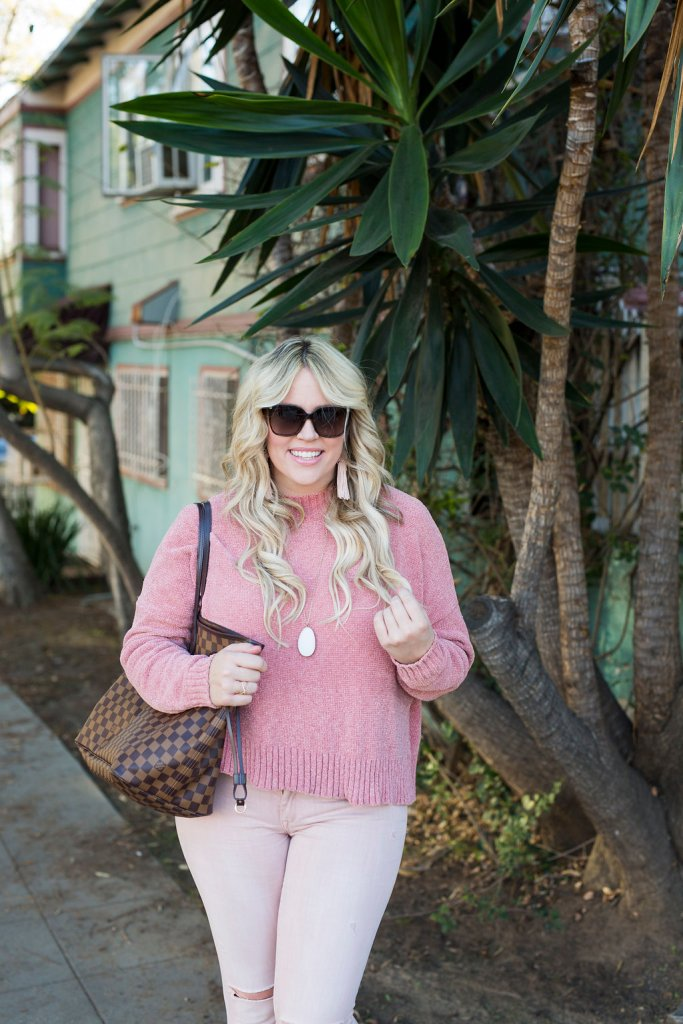 Pink On Pink for Galentines, pink, pink clothes, galentines, valentines, galentine ootd, valentine ootd, san diego blooger, san diego ootd