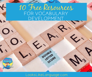 vocabulary skills, speech therapy, teletherapy,