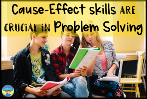 problem solving, cause effect, mixed groups, differentiated instruction, speech therapy
