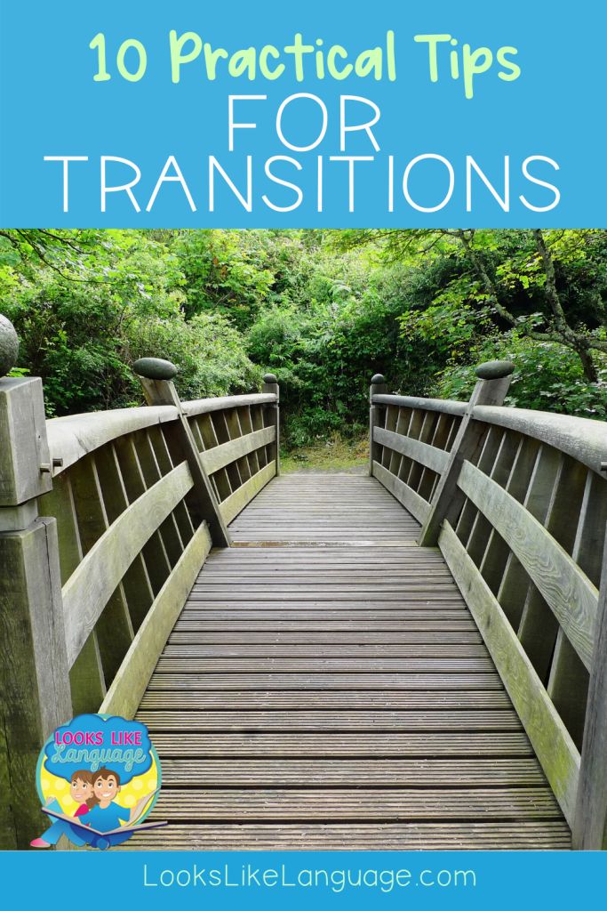 autism, difficulty making transitions, speech therapy