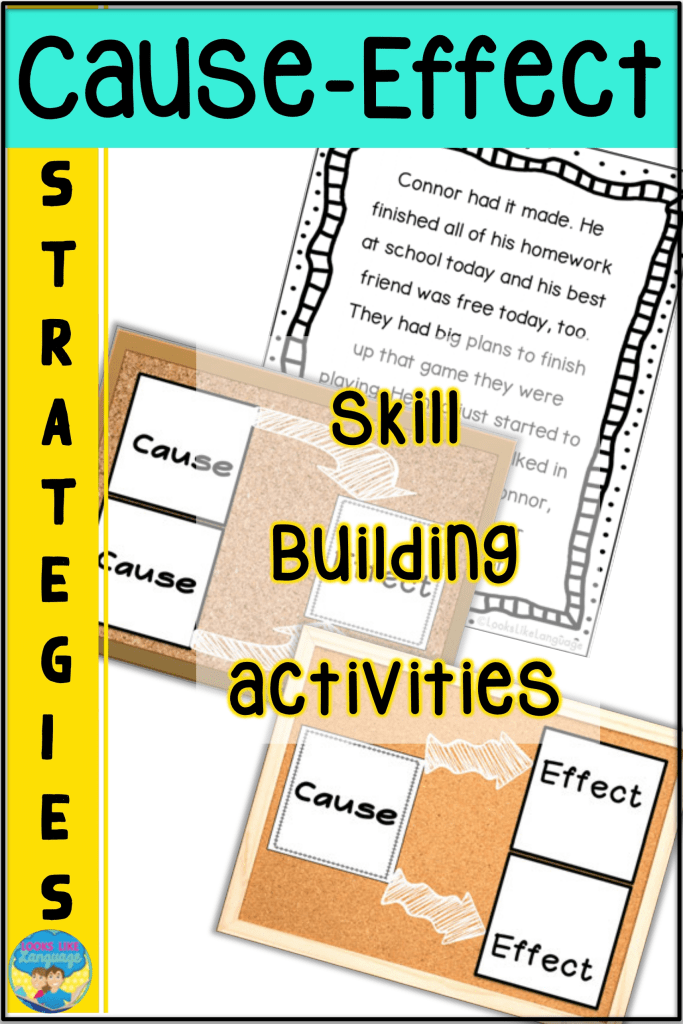 strategies for cause-effect, mixed groups, differentiated instruction, speech therapy