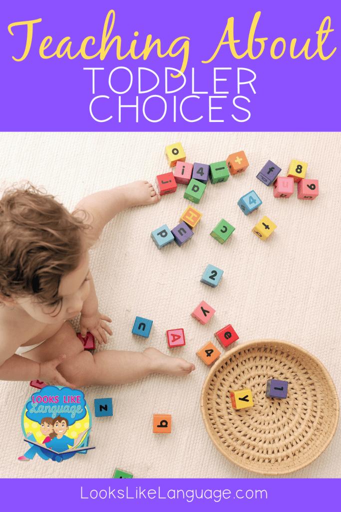 language development, behavior, choices, speech therapy