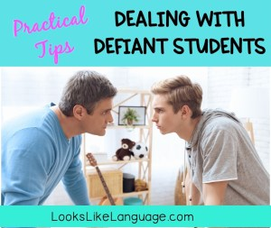 oppositional defiant disorder, speech therapy