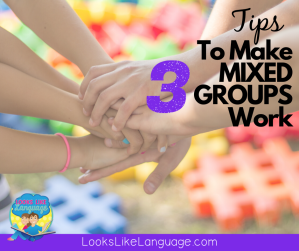 3 quick tips to making mixed speech therapy groups work