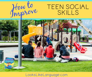 teen social skills, free download, speech therapy