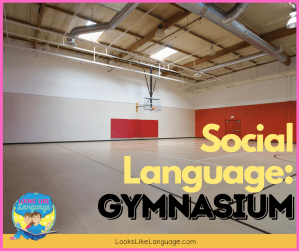 social language - gymnasium