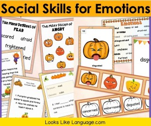 Make teaching social skills for emotions fun and easy with my pictured set on TpT.